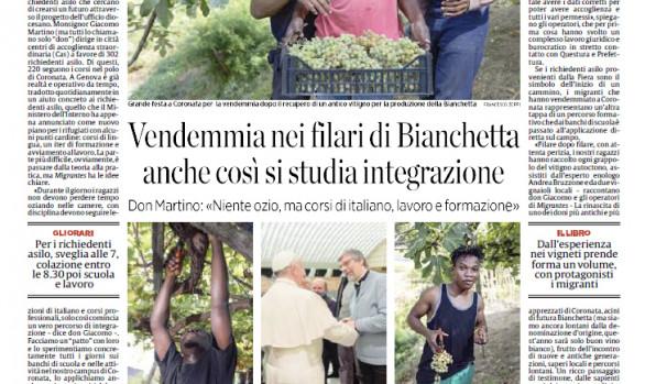 La Bianchetta Genovese on Secolo XIX