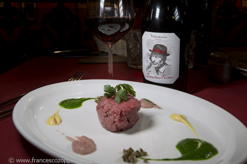 Tartare with Senatore Primo