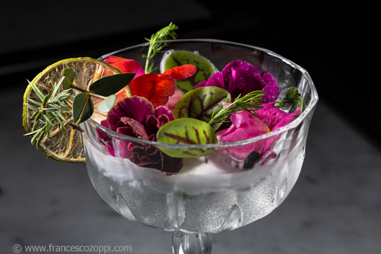 "Cocktail ""Field of flower"""