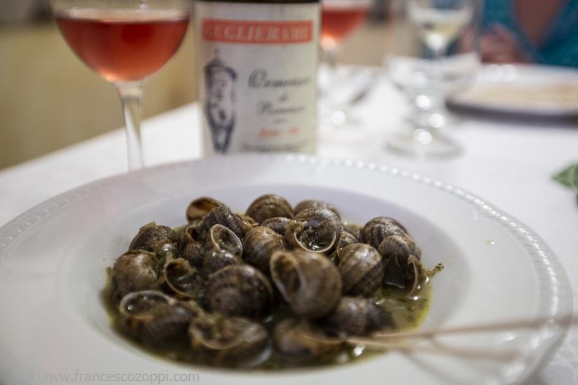 Snails at Baccicin du Caru