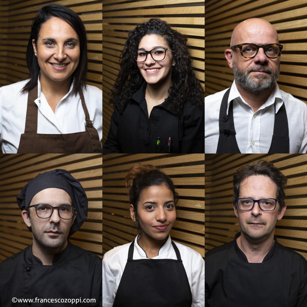 Boccon Divino restaurant staff