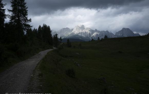 Alpine cottages in Sauris